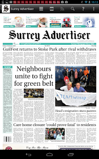 Surrey Advertiser Newspaper