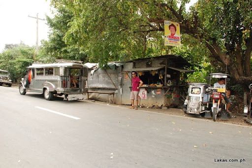 Jeepney and the small sari-sari store