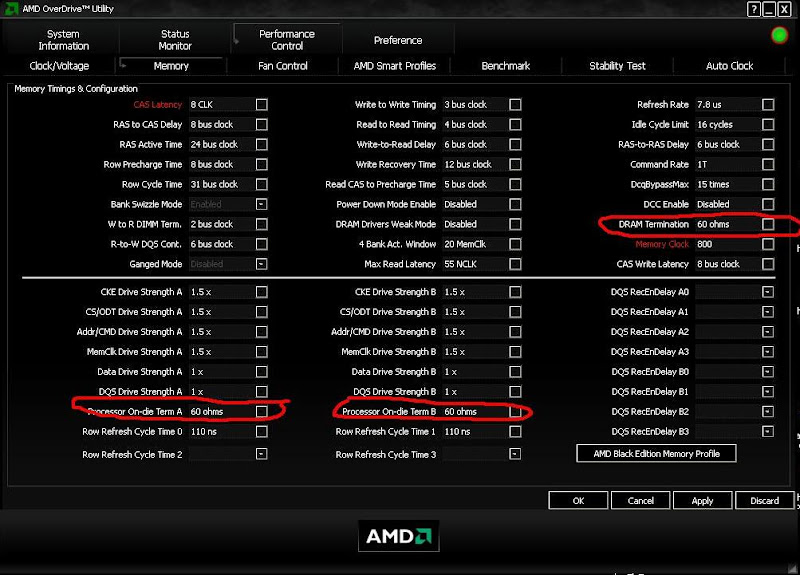 PHENOM II AM3/DDR3 Ram Overclocking List [Archive