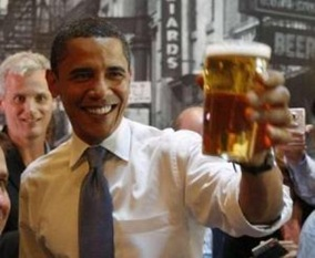Obama Likes Beer