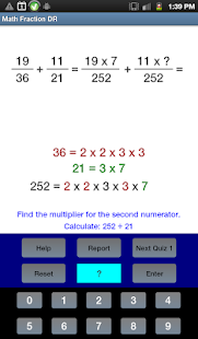 Math Fraction DR- screenshot thumbnail