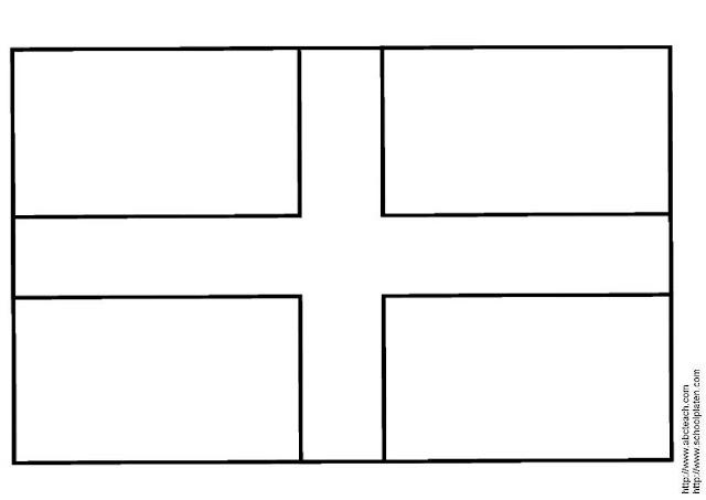 Bandera De Inglaterra Para Colorear
