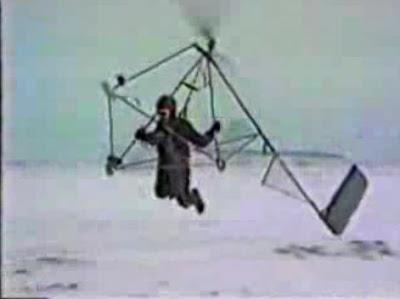 Gyro hang glider