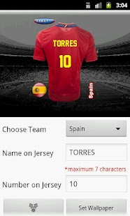 Make Euro Jersey - screenshot thumbnail