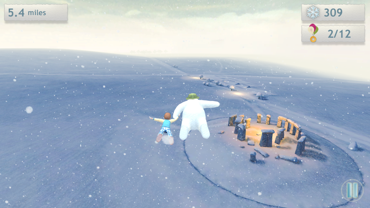 The Snowman & The Snowdog Game - screenshot