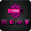 Harley Pink Battery Widget logo