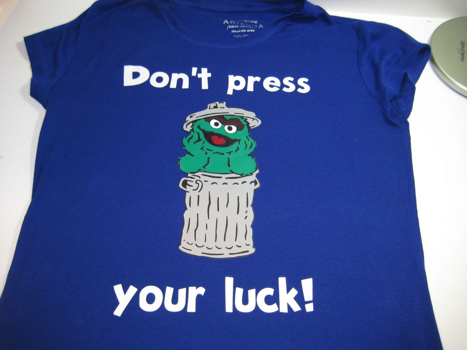 Platinum Scraps Time Out Thursday Sesame Street Shirts