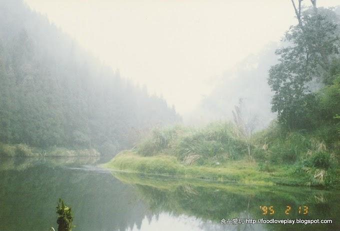 南投竹山-杉林溪森林園區-深山中的湖光美景