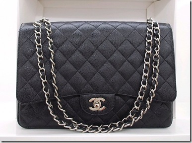 Chanel Bags A47600 Y01588 94305 Black With Silver Hardware