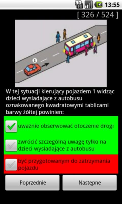 Testy na Prawo Jazdy kat. B- screenshot