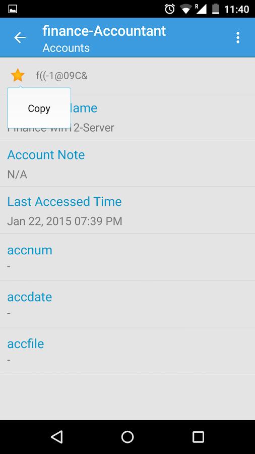 Password Manager Pro - screenshot