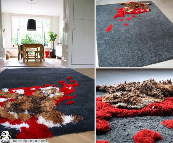 Road Kill Carpet