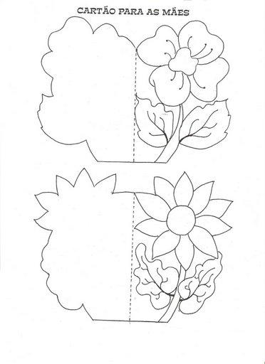 dibujos colorear dia de la madre