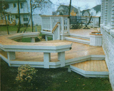 Single Story And Tiered Decks Don T Do It Yourself Let Ddiy For You
