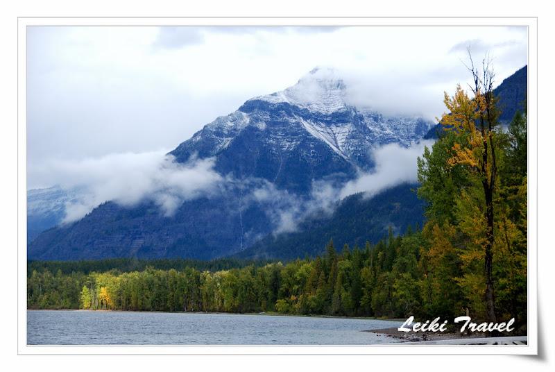 美國冰河公園 Lake Mcdonald 湖景