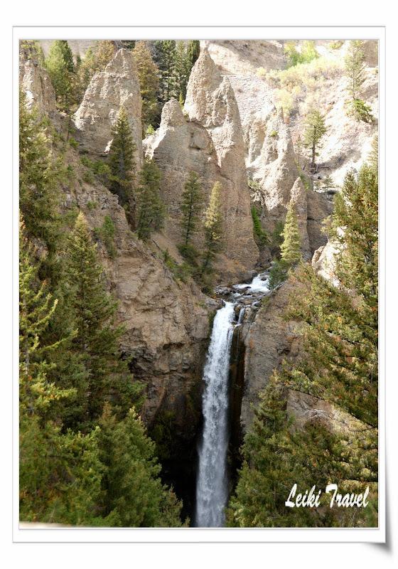 黃石公園 Tower Falls
