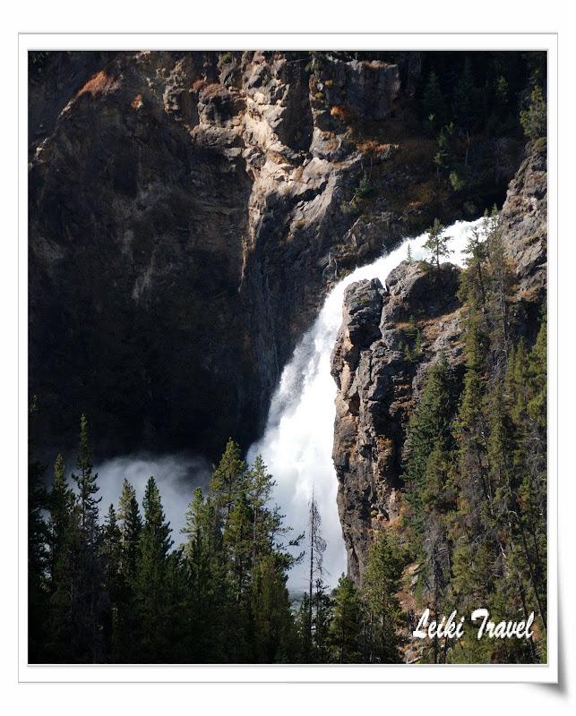 黃石公園 Upper Falls
