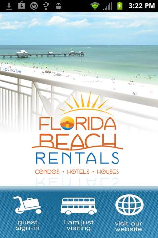Florida Beach Rentals- screenshot