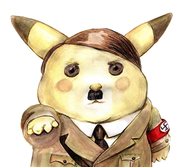 Hitler Cartoon Character