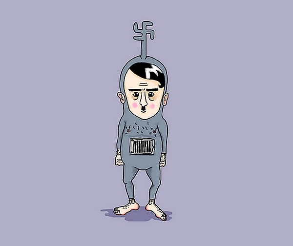 Hitler Cartoon Character