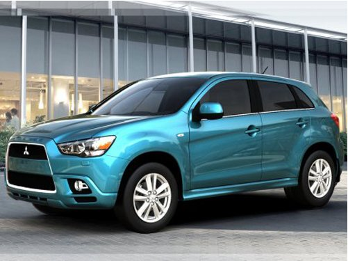 New SUV from company Mitsubishi