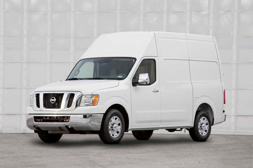 Nissan represents commercial van NV