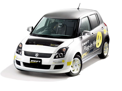 Suzuki designs hybrid Swift