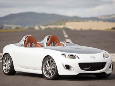 Mazda has shown a MX-5 Superlight Concept