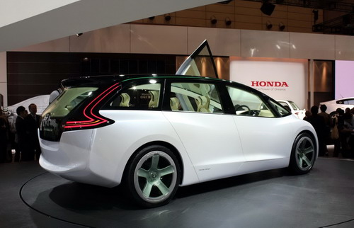 Honda Skydeck has defined a vector of hybrid motor industry