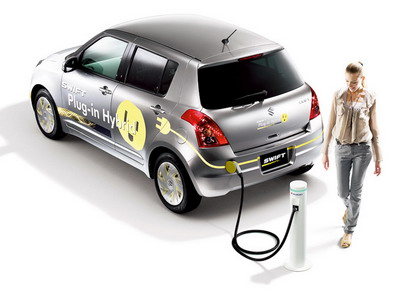 Suzuki has presented a hybrid Swift