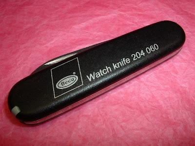 I Love Sak S Victorinox 84mm Watch Case Knife