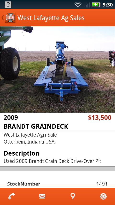 West Lafayette Ag Sales- screenshot