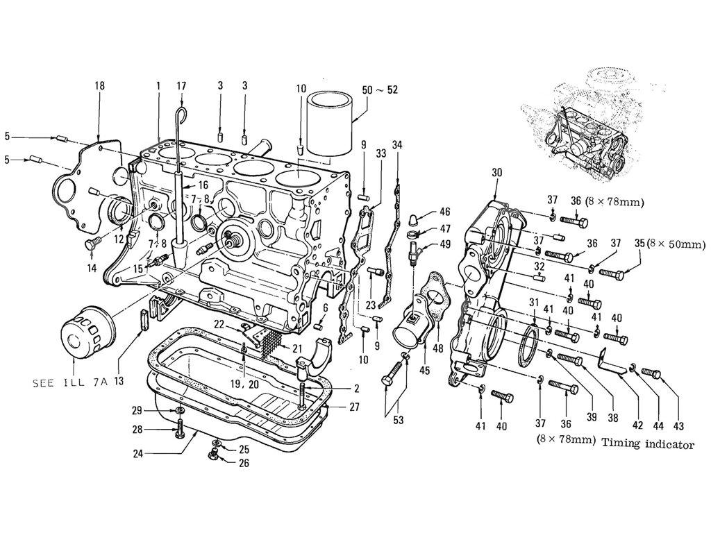 Datsun 1600 Workshop Manual Timing Chain Block Yale Mpb040 E Wiring Diagram