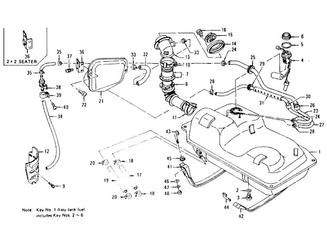 280z Fuel Tank Diagram