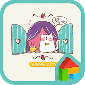 spring day cat dodol theme