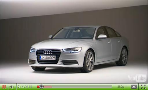 Audi A6 Видео