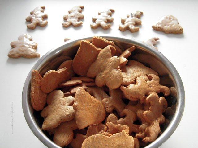 Nina w kuchni: Pierniki (pierniczki) świąteczne