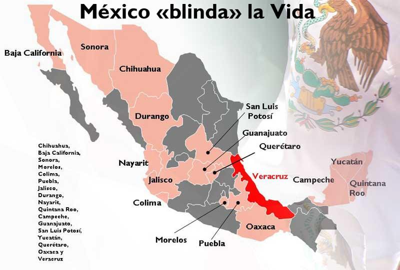 México blinda la vida