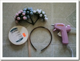 Flowers for Your Hair, Flower Head Band Tutorial