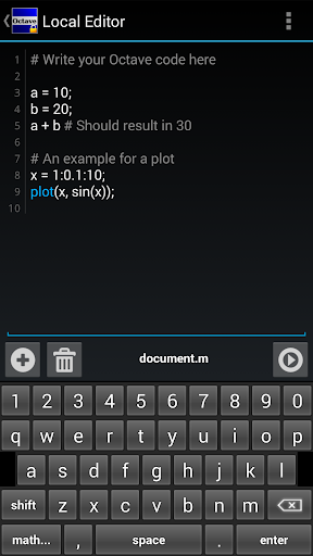 【免費生產應用App】Anoc Octave Editor-APP點子