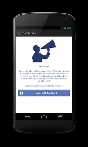 Social Snitch