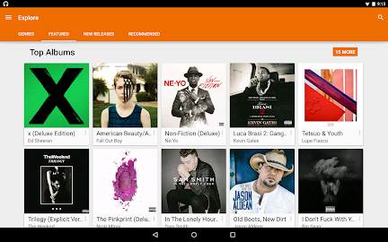 Google Play Music Screensho