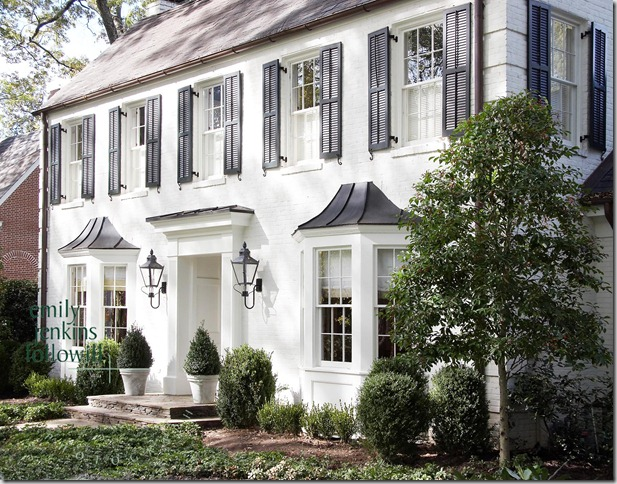 White House Black Shutters Best Home Renovation 2019 By Kellys Depot