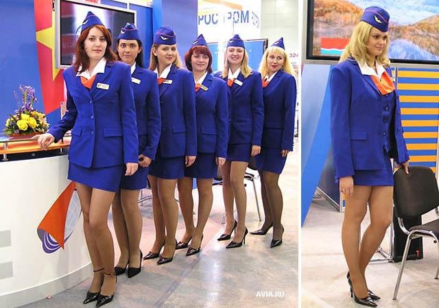 Real air hostess