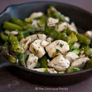 Clean Eating Chicken & Asparagus Skillet
