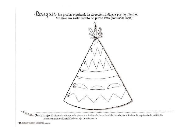 Dibujos Para Colorear Para Ninos De 5 A 6 Anos: FICHAS CALIGRAFIA PREESCOLAR 5 AÑOS