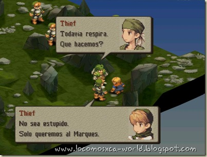 Final Fantasy Tactics textos en Español 2