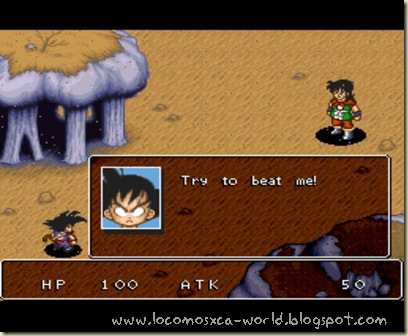 combate dragonball rpg ingles