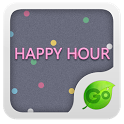 GO Keyboard Happy hour theme icon