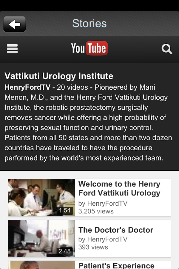 Vattikuti Urology - screenshot